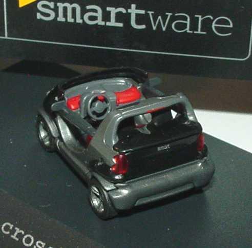 Foto 1:87 MCC Smart Crossblade schwarz/silber-met. Werbemodell Busch 0013439V001C02Q00