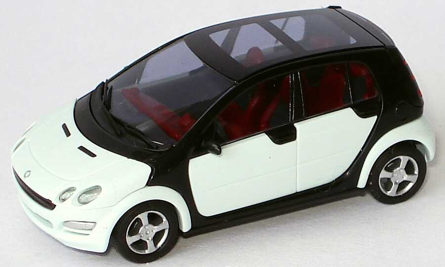Foto 1:87 MCC Smart Forfour ice-white (ohne PC-Box) Busch 0017726V001C01Q00
