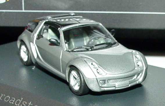 Foto 1:87 MCC Smart Roadster Coupé glance-grey-met. Werbemodell Busch 0014186V001C30Q00