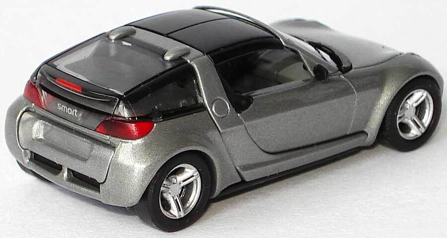 Busch smart roadster coupé in glance grey PC