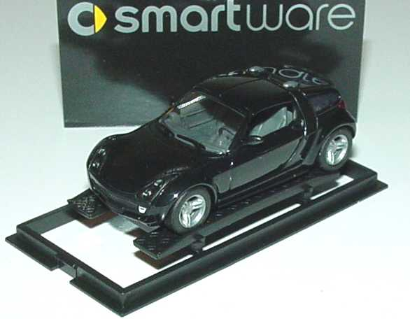 Foto 1:87 MCC Smart Roadster Coupé jack-black Werbemodell Busch 0013097V002000000