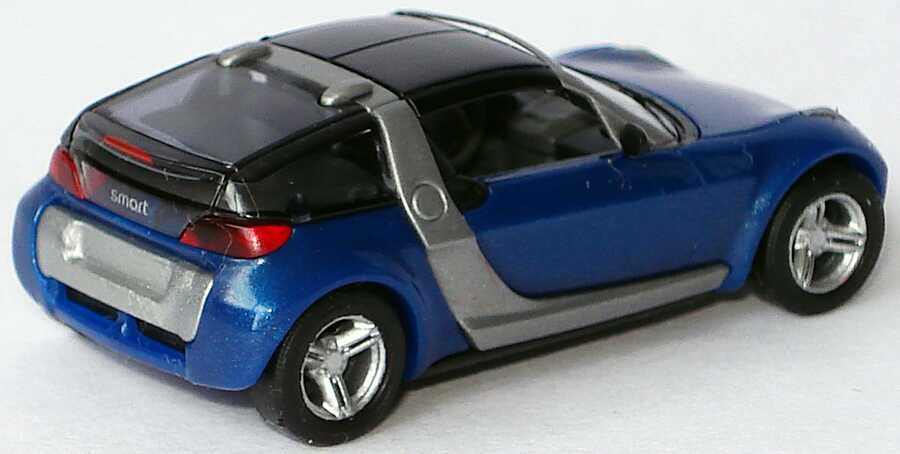 Foto 1:87 MCC Smart Roadster Coupé star-blue-met. (ohne PC-Box) Busch 0014184V001C06Q00