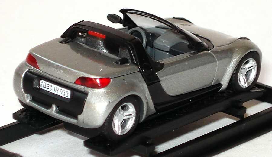 Foto 1:87 MCC Smart Roadster glance-grey-met. (CMD-Edition) Busch 49305