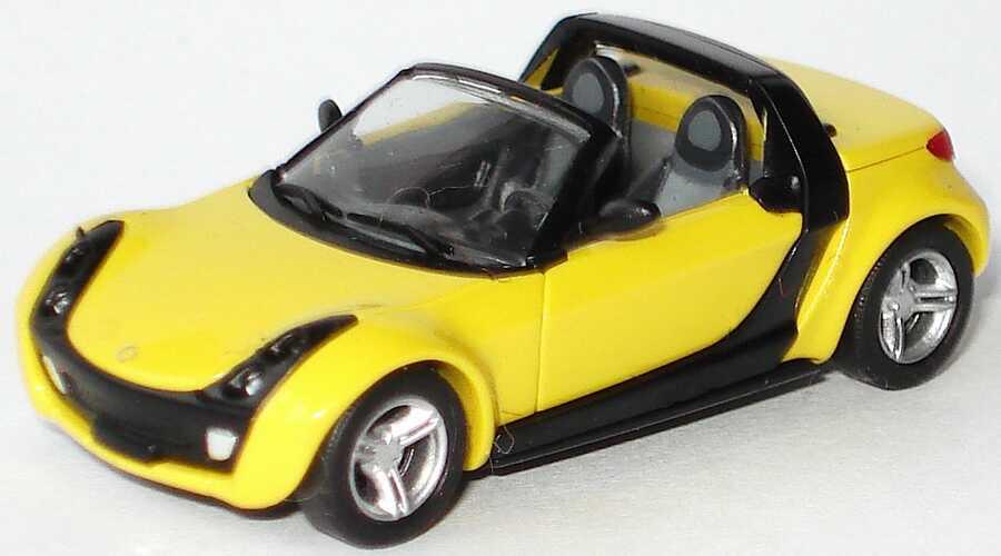Foto 1:87 MCC Smart Roadster shine-yellow Busch 0014183V001C11Q00