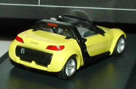 Foto 1:87 MCC Smart Roadster shine-yellow Werbemodell Busch 0014183V001C11Q00
