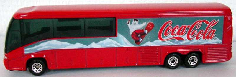 Foto 1:87 MCI E4500 Coca-Cola, Motiv Eisbär Matchbox