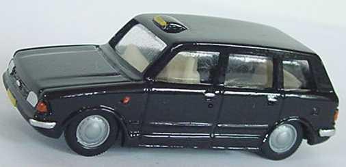 Foto 1:87 MCW Metrocab Taxi schwarz Artapo 033