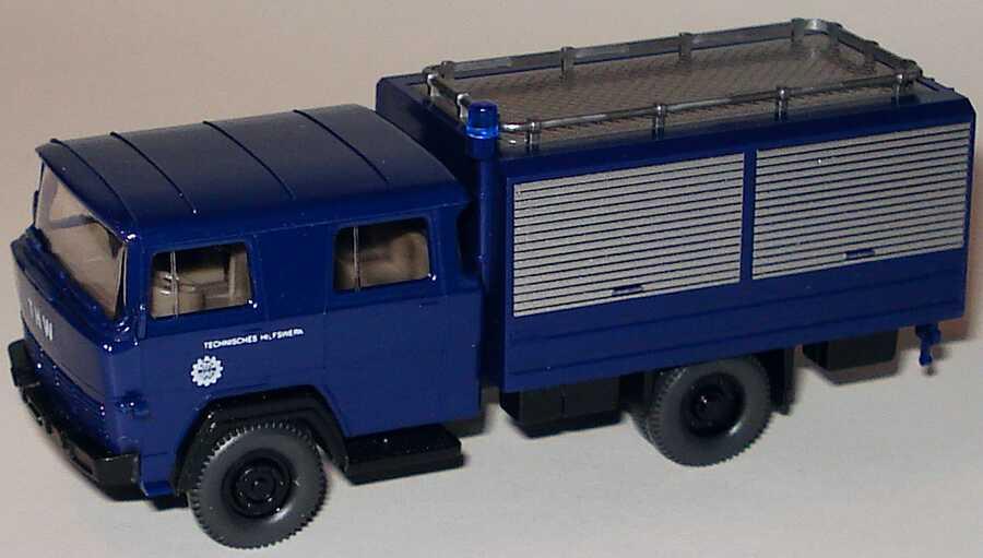 Foto 1:87 Magirus Gerätewagen THW Wiking 693