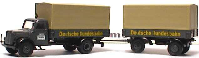 Foto 1:87 Magirus Hauber PPHgz 2/2 Deutsche Bundesbahn Brekina 4151