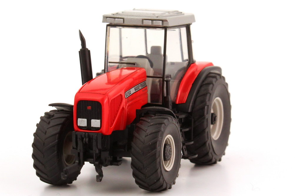 Foto 1:87 Massey Ferguson Traktor MF 8280 rot Wiking 38501