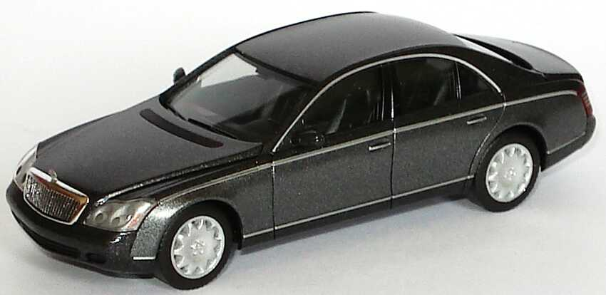 Foto 1:87 Maybach 57 himmalaya-grey/dark  (ohne PC-Box) herpa B66961338