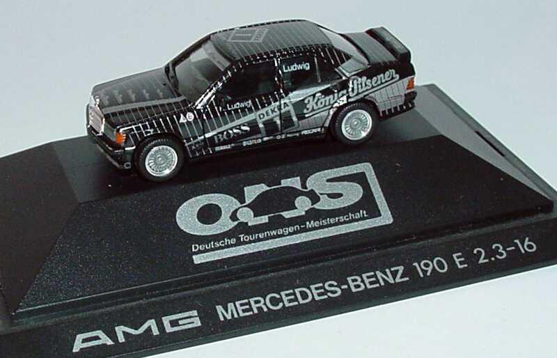 Foto 1:87 Mercedes-Benz 190E 2.3-16 DTM 1989 AMG Nr.1, Klaus Ludwig herpa 3511