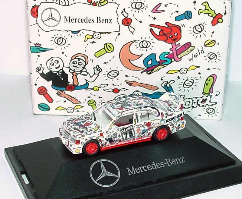 Foto 1:87 Mercedes-Benz 190E 2.5-16 Evolution II DTM 1991 AMG, East (Andora-Design) Nr.78, Lohr Werbemodell herpa