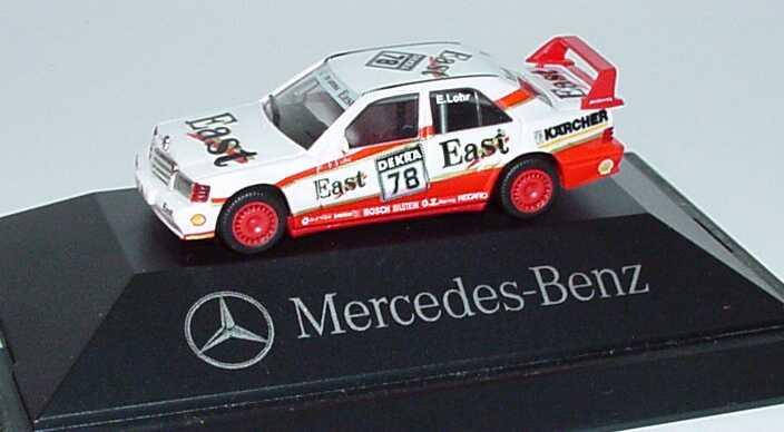 Foto 1:87 Mercedes-Benz 190E 2.5-16 Evolution II DTM 1991 AMG, East Nr.78, Lohr Werbemodell herpa