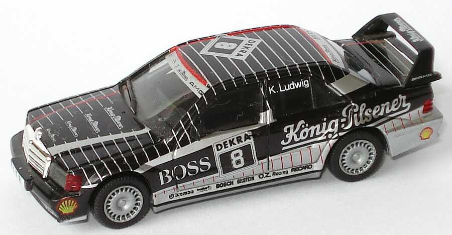 Foto 1:87 Mercedes-Benz 190E 2.5-16 Evolution II DTM 1991 AMG, König-Pilsener Nr.8, K. Ludwig (ohne PC-Box) herpa 3537