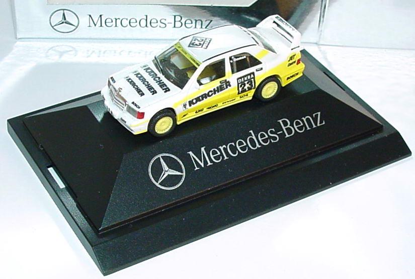 Foto 1:87 Mercedes-Benz 190E 2.5-16 Evolution II DTM 1991 MS-Kärcher Nr.23, van Ommen Werbemodell herpa