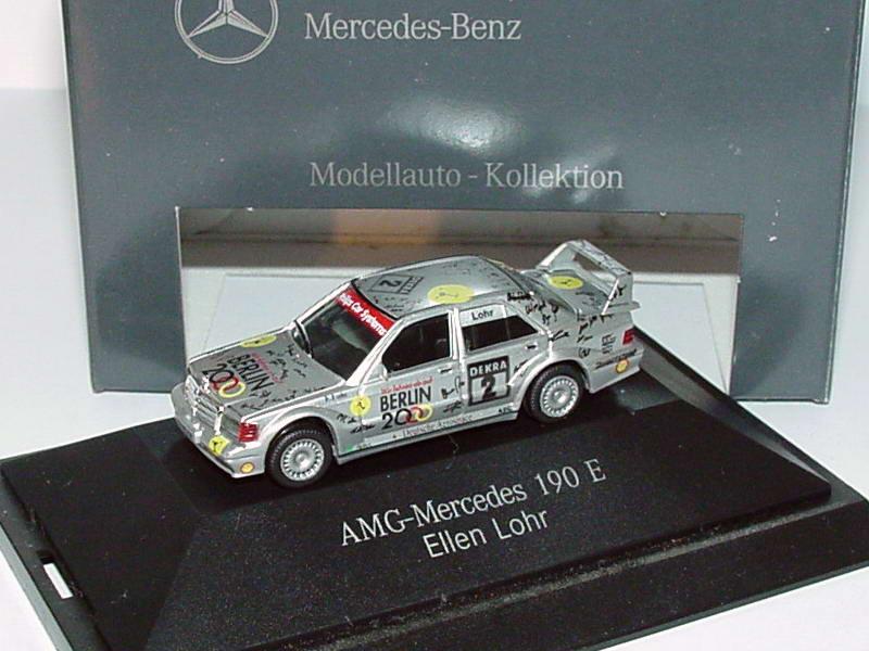 Foto 1:87 Mercedes-Benz 190E 2.5-16 Evolution II DTM 1993 AMG-Berlin 2000 Nr.2, Ellen Lohr Werbemodell herpa B66005620
