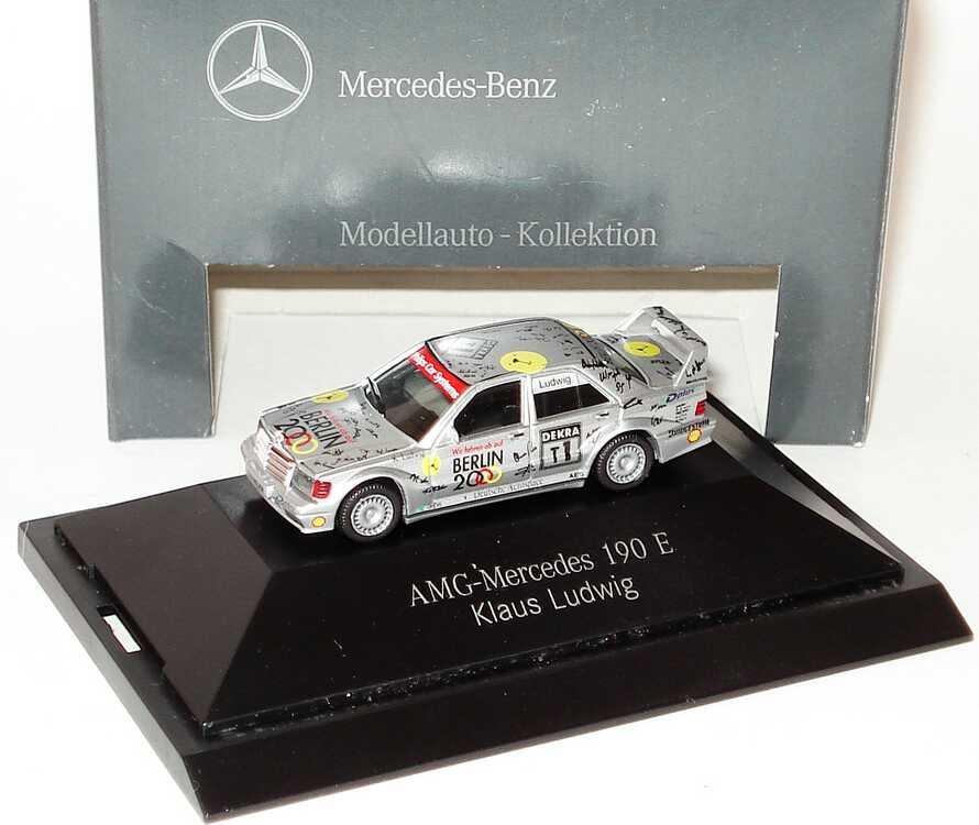 Foto 1:87 Mercedes-Benz 190E 2.5-16 Evolution II DTM 1993 AMG-Berlin 2000 Nr.T1, Ludwig Werbemodell herpa B66005619