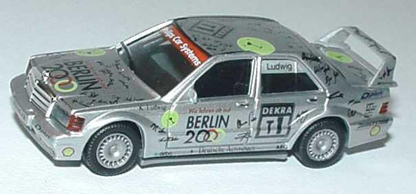Foto 1:87 Mercedes-Benz 190E 2.5-16 Evolution II DTM 1993 AMG-Berlin 2000 Nr.T1, Ludwig Werbemodell(ohne PC-Box) herpa B66005619