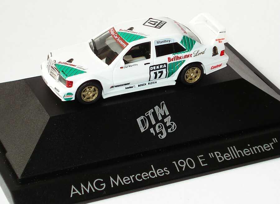 Foto 1:87 Mercedes-Benz 190E 2.5-16 Evolution II DTM 1993 Persson Bellheimer Nr.17 Olaf Manthey - herpa 181815