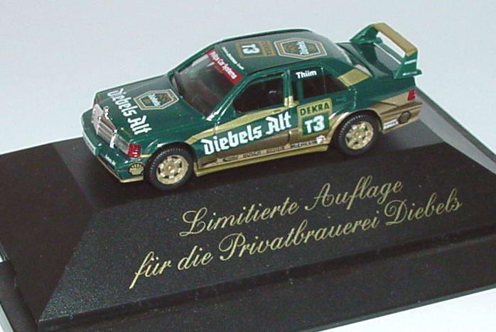 Foto 1:87 Mercedes-Benz 190E 2.5-16 Evolution II DTM 1993 Zakspeed-Diebels Nr.T3, Thiim (Diebels Alt) herpa