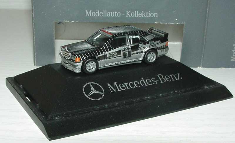 Foto 1:87 Mercedes-Benz 190E 2.5-16 Evolution I DTM 1990 AMG, König-Pilsener Nr.7, K. Ludwig Werbemodell herpa