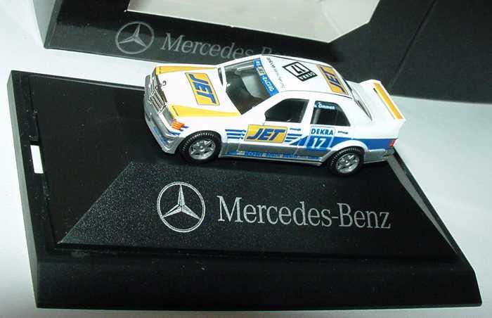 Foto 1:87 Mercedes-Benz 190E 2.5-16 Evolution I DTM 1990 MS-Jet Nr.17, v. Ommen Werbemodell herpa