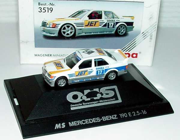 Foto 1:87 Mercedes-Benz 190E 2.5-16 Evolution I DTM 1990 MS-Jet Nr.17, v. Ommen herpa 3519
