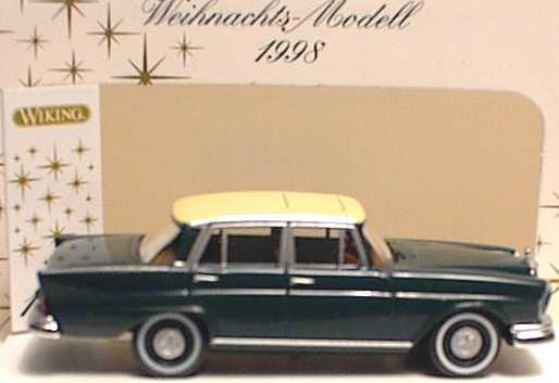 159 39 27 Mercedes Benz S Klasse dunkelgrün OVP #3991 Wiking 1//87 Nr