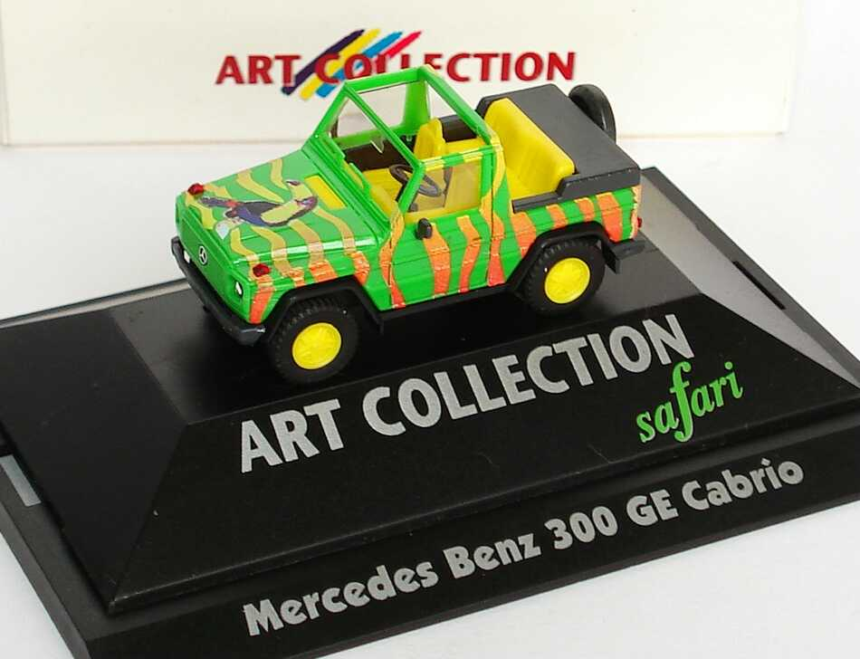 Foto 1:87 Mercedes-Benz G-Modell 300GE Cabrio Safari - herpa Art Collection 045100