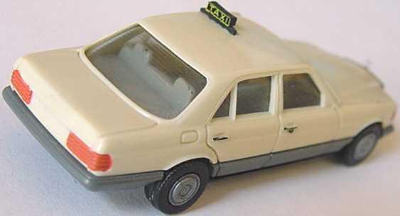 Foto 1:87 Mercedes-Benz 500SE (W126) Taxi (bemalt) herpa