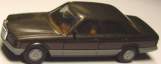 Foto 1:87 Mercedes-Benz 500SE (W126) dunkelbraun-met. herpa 3022