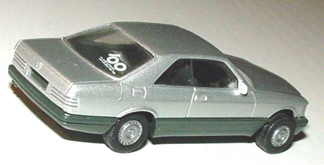 Foto 1:87 Mercedes-Benz 560SEC (C126) silber-met. (1. Version) 100 Jahre Automobil herpa 3054