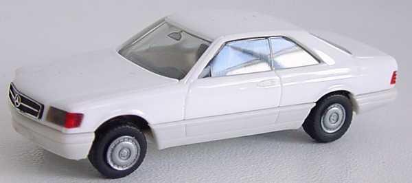 Foto 1:87 Mercedes-Benz 560SEC (C126) weiß herpa 2087