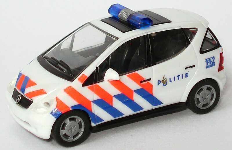 Foto 1:87 Mercedes-Benz A-Klasse (W168) Politie (Polizei NL) herpa