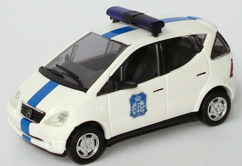 Foto 1:87 Mercedes-Benz A-Klasse (W168) Polizei Belgien, Brügge, P13 Busch 48608