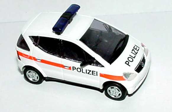 Foto 1:87 Mercedes-Benz A-Klasse (W168) Polizei Österreich Busch 48607