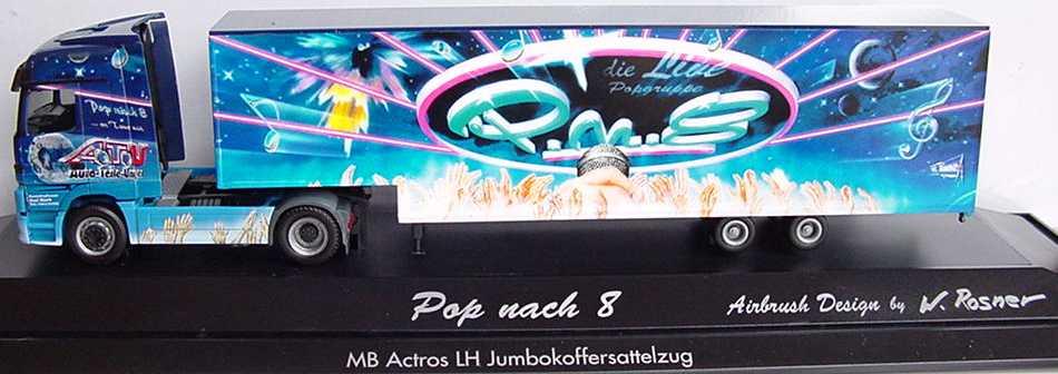 Foto 1:87 Mercedes-Benz Actros LH Fv Cv JuKoSzg 2/2 Pop nach 8 herpa 187855