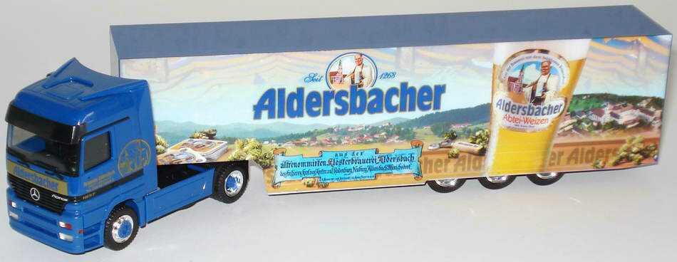 Foto 1:87 Mercedes-Benz Actros LH Fv Cv KoSzg Cv 2/3 Brauerei Alsersbach,  Aldersbacher Abtei-Weizen herpa 239387