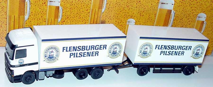 Foto 1:87 Mercedes-Benz Actros LH KoHgz 3/2 Flensburger Pilsener Albedo 250038