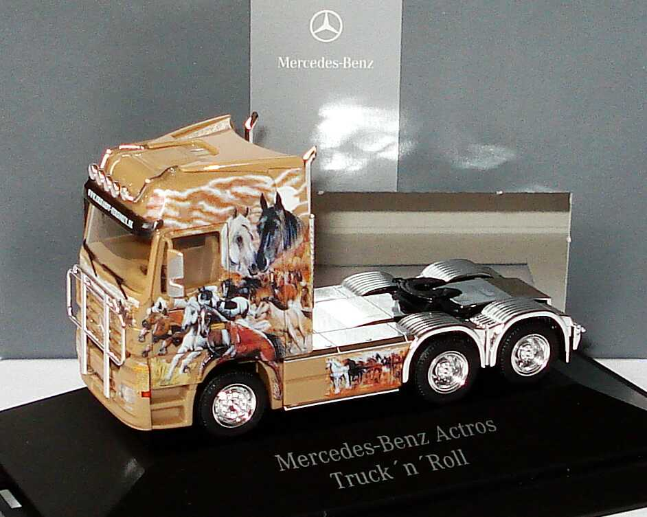 Foto 1:87 Mercedes-Benz Actros Megaspace MP2 3a Szgm Truck´n´Roll, Erhardt & Verkoren Werbemodell herpa B66963961