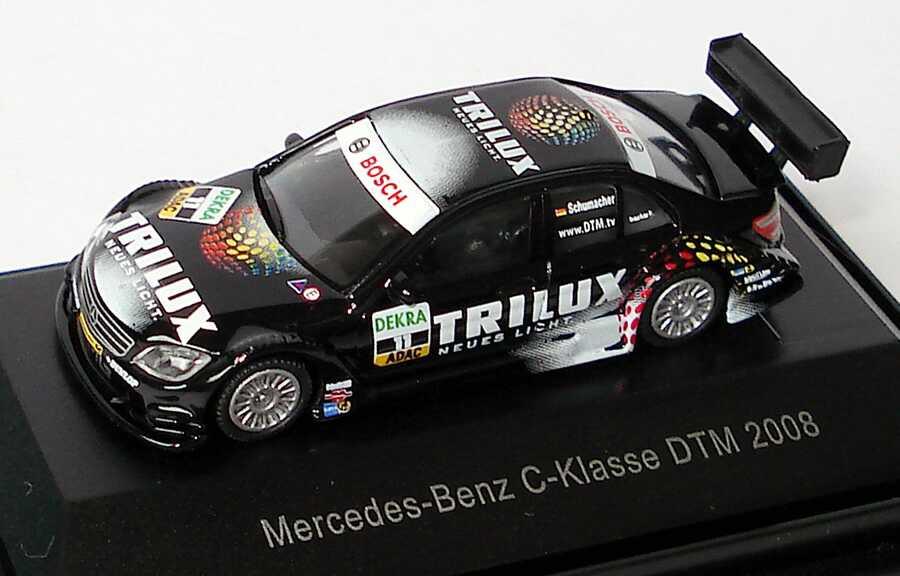Foto 1:87 Mercedes-Benz C-Klasse (W204) DTM 2008 Trilux, AMG Nr.11, Schumacher Schuco 452564600