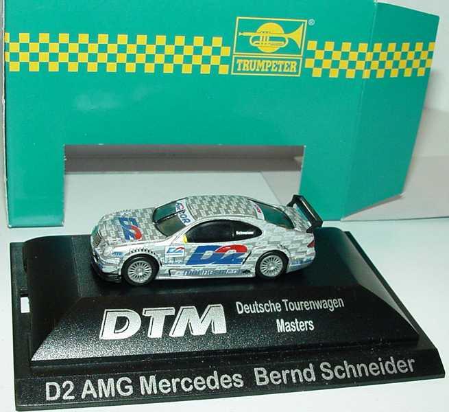 Foto 1:87 Mercedes-Benz CLK DTM 2000 AMG, D2 Nr.1, Bernd Schneider Trumpeter mcs3020p