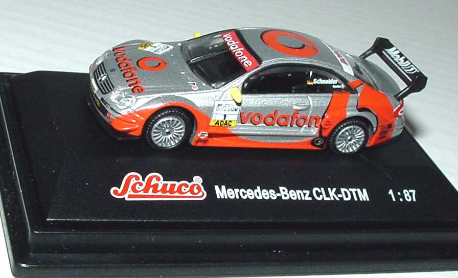 Foto 1:87 Mercedes-Benz CLK DTM 2002 Vodafone Nr.1, Schneider Schuco 21660