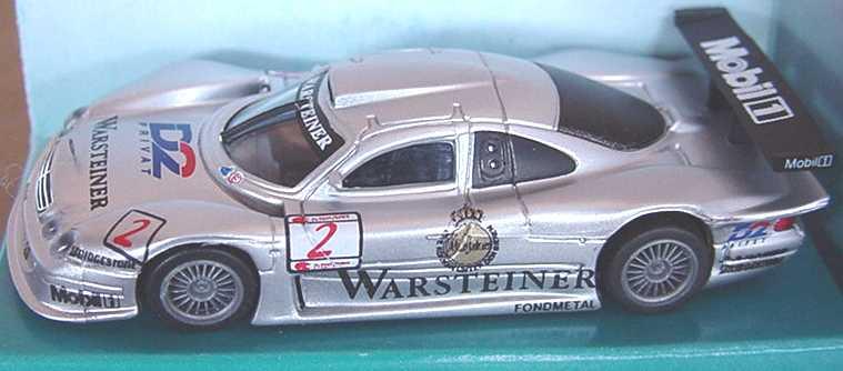 Foto 1:87 Mercedes-Benz CLK LM ´98 Warsteiner, D2 Privat Nr.2, Ludwig/Zonta MGM 3002