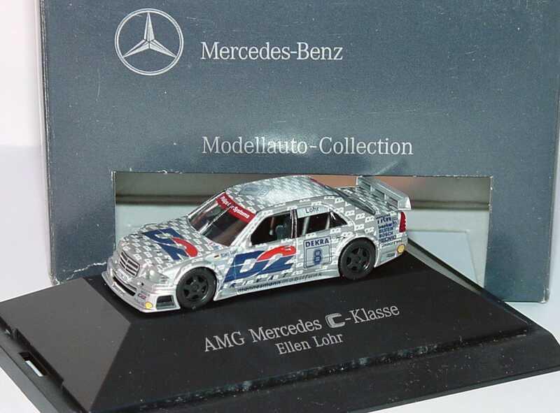 Foto 1:87 Mercedes-Benz C 180 DTM 1994 AMG, D2 Privat Nr.8, Ellen Lohr Werbemodell herpa B66005305