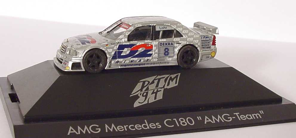 Foto 1:87 Mercedes-Benz C 180 DTM 1994 AMG, D2 Privat Nr.8, Ellen Lohr herpa 036160