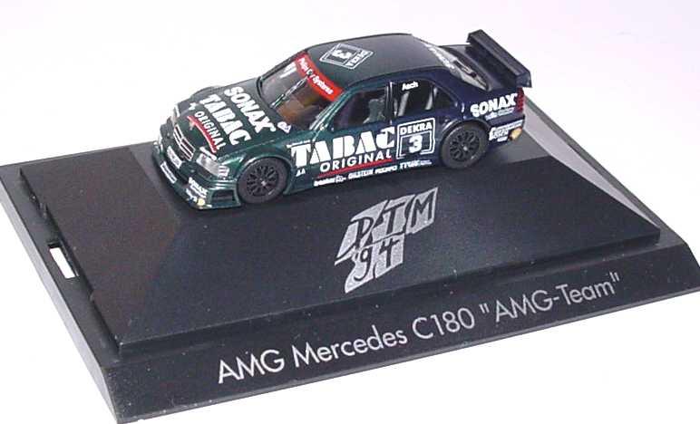 Foto 1:87 Mercedes-Benz C-Klasse W202 DTM 1994 AMG Tabac Sonax Nr.3 Roland Asch - herpa 036191