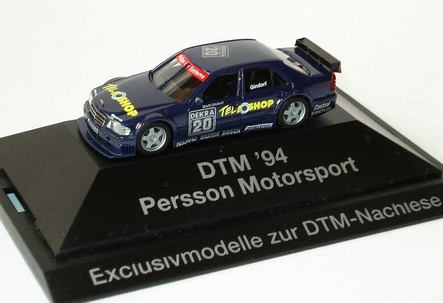 Foto 1:87 Mercedes-Benz C 180 DTM 1994 Persson, Tele Shop Nr.20, Gindorf (DTM-Nachlese) herpa