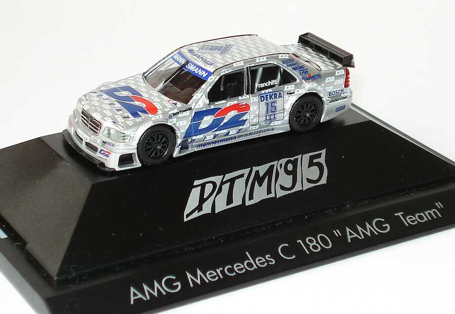 Foto 1:87 Mercedes-Benz C-Klasse W202 DTM 1995 AMG D2 Privat Nr.15 Dario Franchitti - herpa 036511